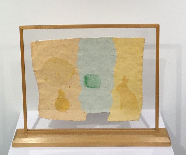 Robert Rauschenberg, 'Roan, from Pages And Fuses ', 1974, Print, Handmade paper, pigment and screen printed tissue laminated to paper pulp, Gregg Shienbaum Fine Art