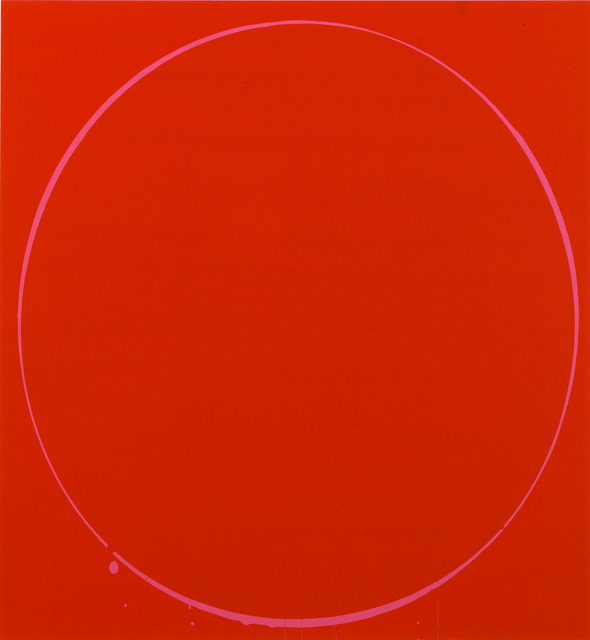 , 'Oval dark red, magenta, dark red,' 2002, Gallery 2C for Art