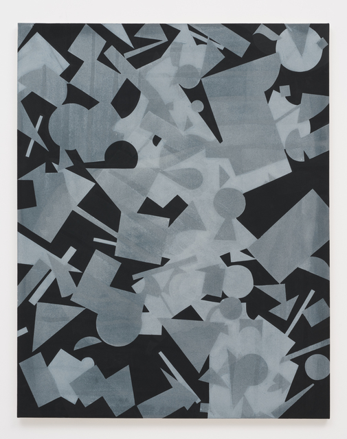 , 'Untitled (Black Shape Painting 1),' 2013, Roberts & Tilton