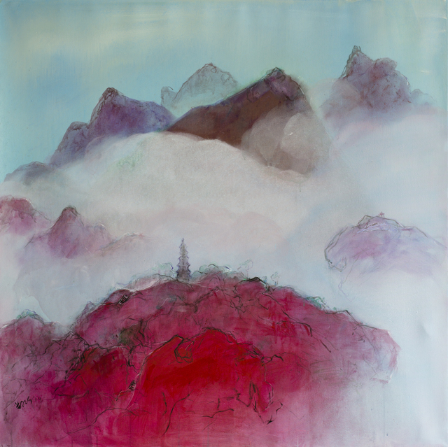, 'Pagoda in the Clouds | 云锁山塔,' 2015, Matthew Liu Fine Arts