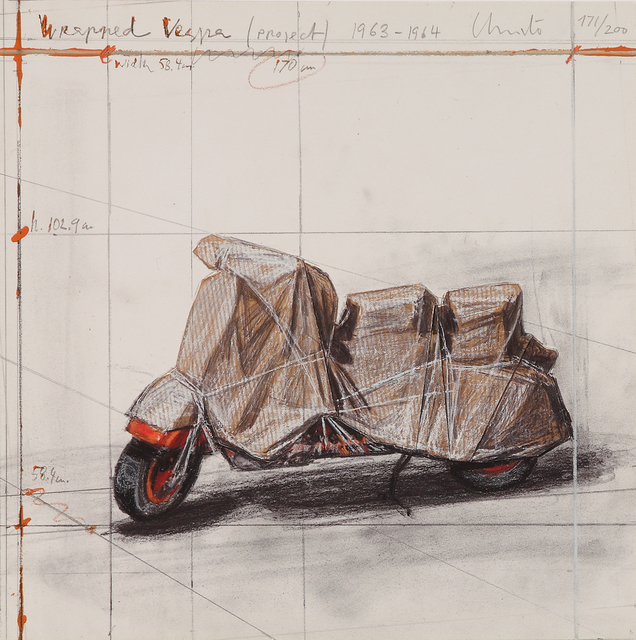 , 'Wrapped Vespa (Project 1963 - 1964),' , Galerie Boisseree
