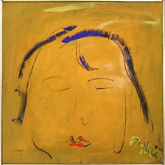 , 'Head in Meditation,' 1960, Walter Wickiser Gallery