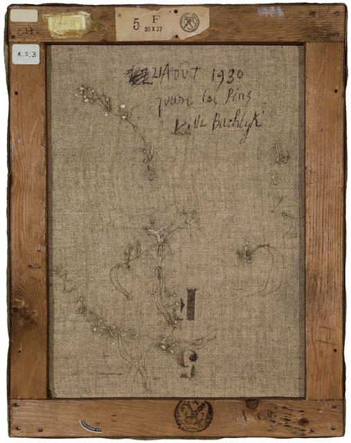 Philippe Gronon, 'Verso n°57, Composition, par Pablo Picasso, collection Musée national Picasso, Paris', 2016, Modernism Inc.