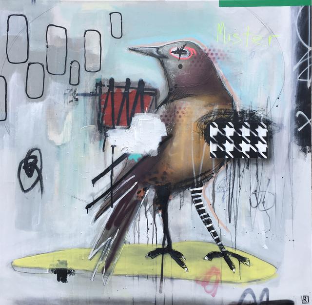 , 'Mister Purple,' 2017, Galerie LeRoyer