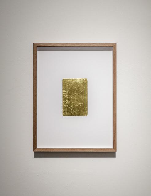 , 'Golden Memories,' 2016, Akinci
