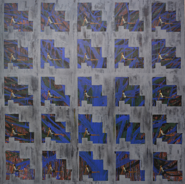 Alok Bal, 'Emulsion & Stress...Relief ', 2007, Painting, Acrylic on canvas, Arushi Arts
