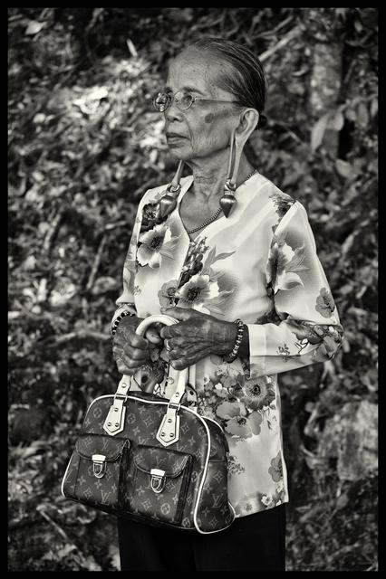 , 'Kayan Tribe Elder,' 2016, SCShekar
