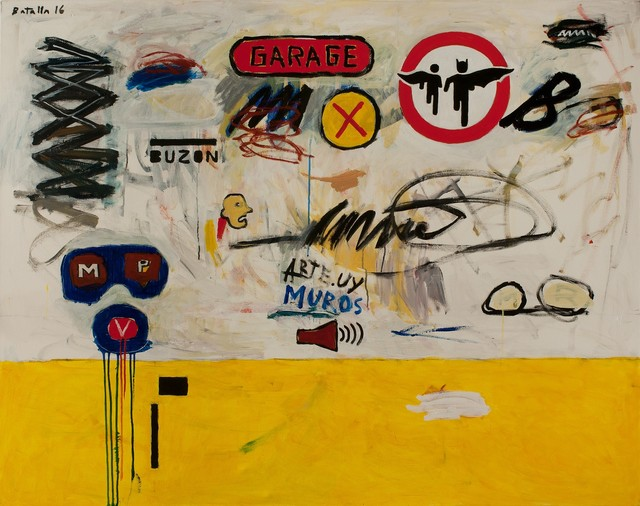 , 'Garage y Signos,' 2016, RoFa Projects