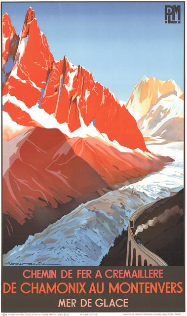 , 'De Chamonix au Montenvers,' 1982, ArtWise