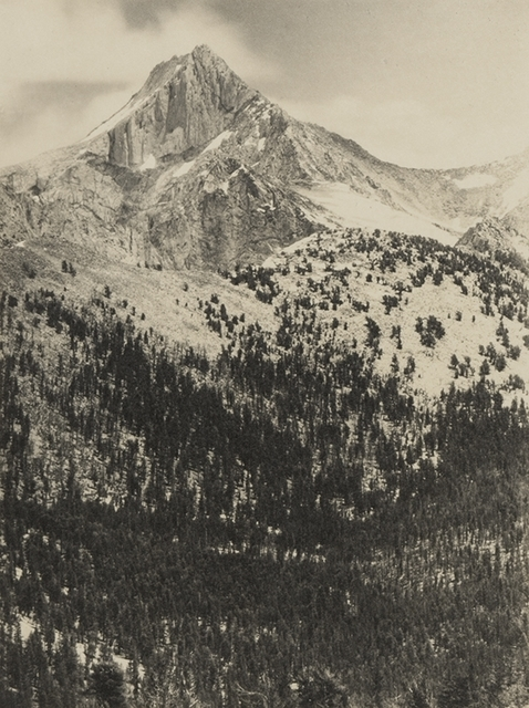 , 'Mount Clarence King,' 1927, Atlas Gallery