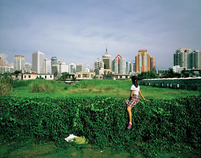 , 'Sitting on the Wall-Haikou,' 2005, Tang Contemporary Art