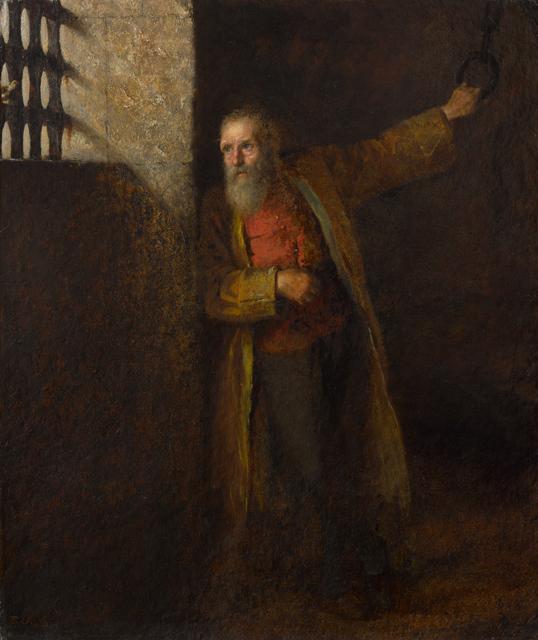 Eastman Johnson, 'A Prisoner of the State', 1874, Clark Art Institute