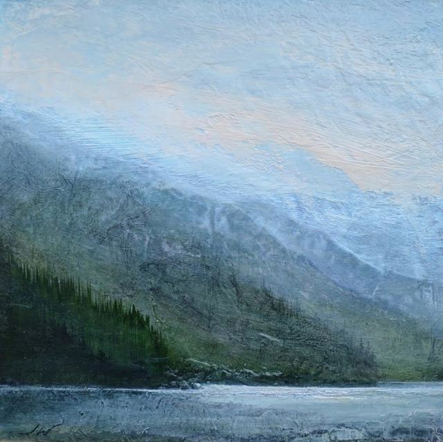 , 'Reflective Shores ,' 2017, WaterWorks Gallery