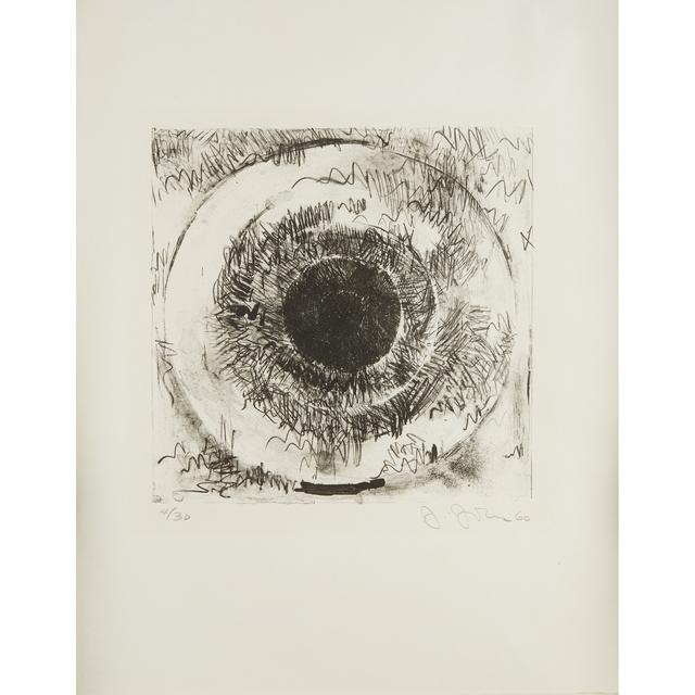 Jasper Johns, 'Target', 1960, Print, Lithograph on Japan, Freeman's