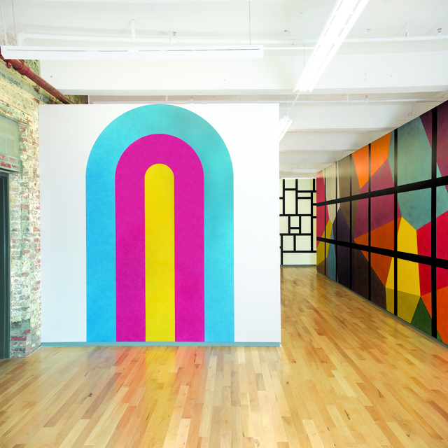 , 'Wall Drawing #579 ,' 1988, MASS MoCA