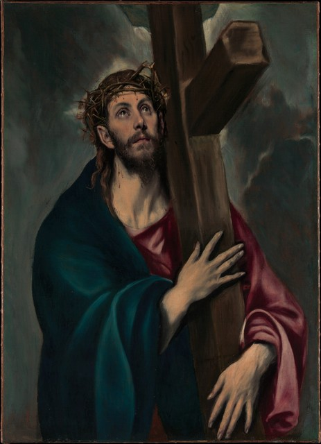 El Greco, 'Christ Carrying the Cross', ca. 1577–1587, The Metropolitan Museum of Art