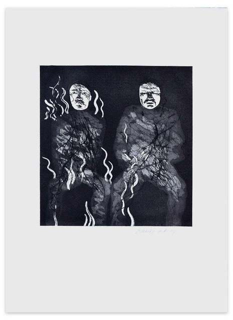 David Hockney, 'Corpses on fire', 1969, Wallector