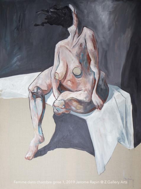 Jerome Rapin, 'Femme Dans Chambre Grise 1', ca. 2019, Z Gallery Arts