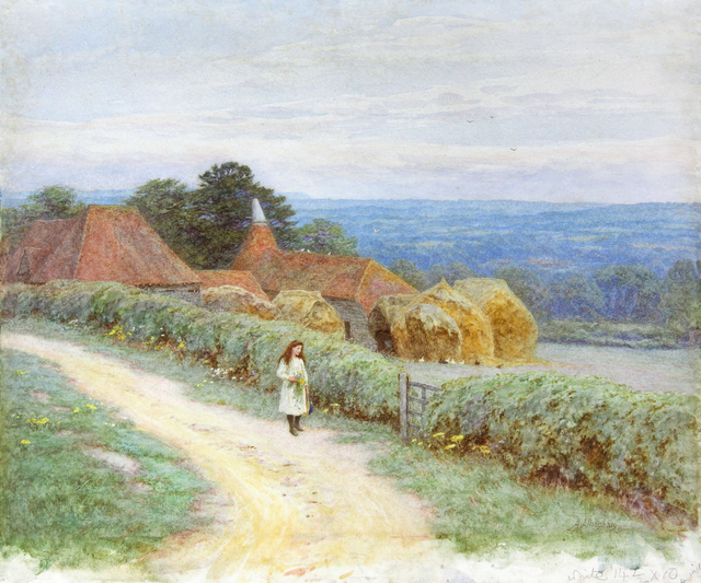 , 'The Kentish Farmhouse at Crockham Hill  ,' , Chris Beetles Gallery