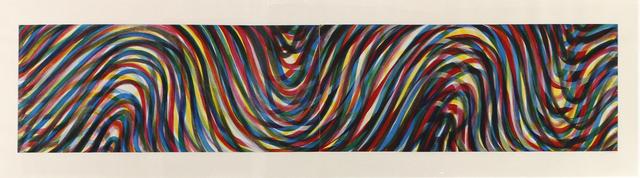 , 'Horizontal Wavy Lines,' 1996, William Shearburn Gallery