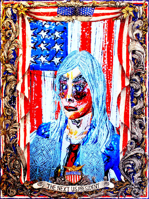 , 'American Circus - The Next President of the United States of America,' 2014, CONNERSMITH.