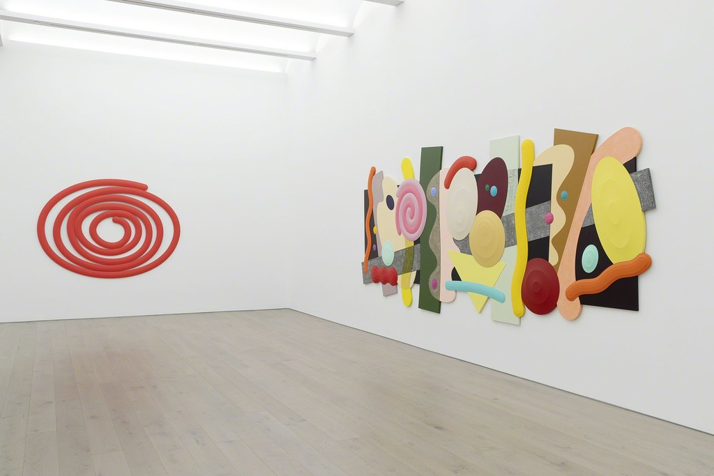 View of Josh Sperling's exhibition, Big Time, at Perrotin New York  ©Photo: Guillaume Ziccarelli. Courtesy of the artist & Perrotin