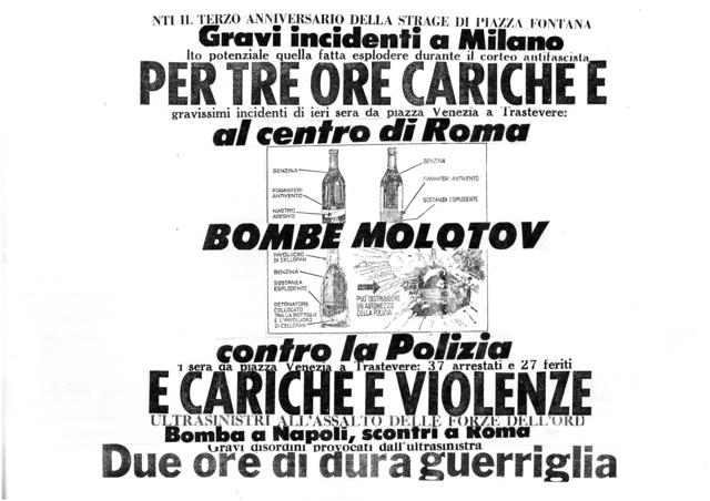 , 'Bombe Molotov,' 1975-2017, Galleria Michela Rizzo