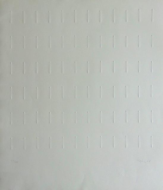 , 'Untitled [Ranking] | Ohne Titel [Reihung],' 1968, Gilden's Art Gallery