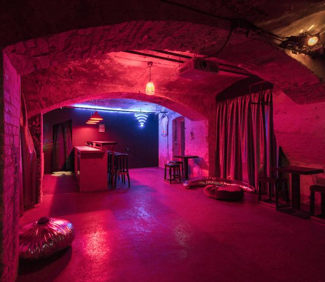 , 'Mastur Bar,' 2018, LAMB Arts
