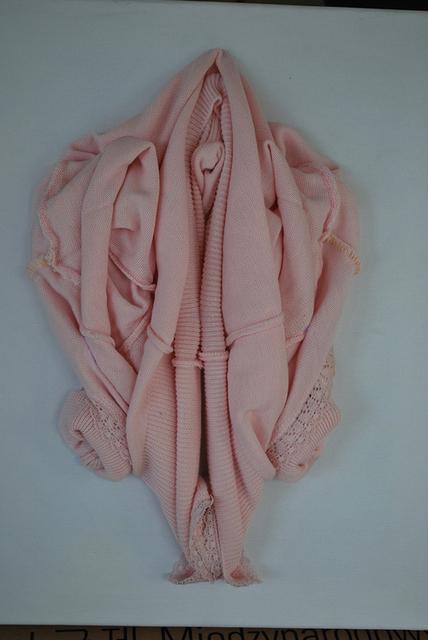 Alfredo and Isabel Aquilizan, ' Flower series', 2014, Textile Arts, Baby sweater, NUNU FINE ART