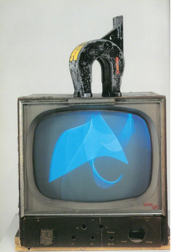 Nam June Paik, 'Magnet TV,' 1965, Gallery Hyundai