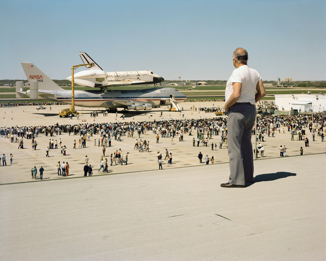 Joel Sternfeld, 'The Space Shuttle Columbia Lands at Kelly Lachland Air Force Base, San Antonio, Texas, March 1979', 1979-2008, Buchmann Galerie