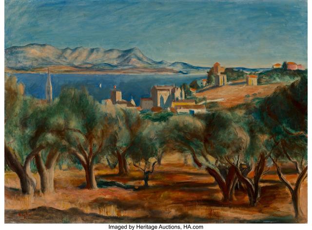 Henri Hayden, 'Paysage de Sanary (Côte d'Azur)', circa 1929, Painting, Oil on canvas, Heritage Auctions