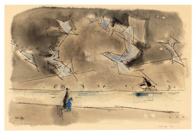 , 'Dancing Sky,' 1950, Ludorff