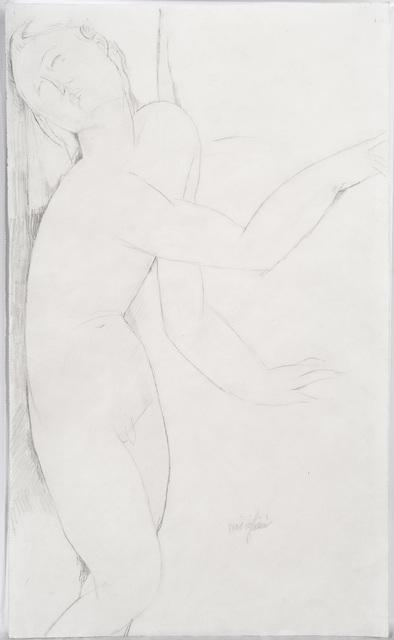 Amedeo Modigliani, 'Nudo maschile in piedi', 1916, DICKINSON