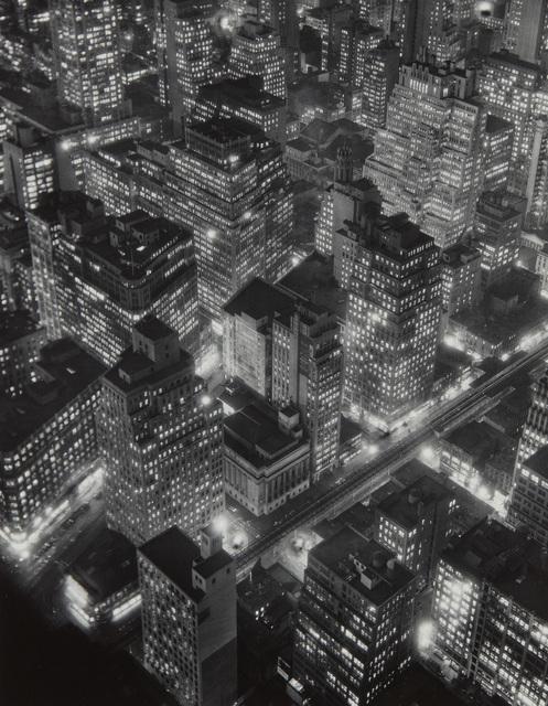 Berenice Abbott, 'New York at Night', 1932, Phillips