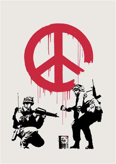 Banksy, 'CND Soldiers - Unsigned', 2005, Hang-Up Gallery