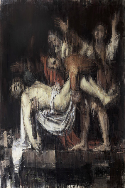""", '""""B.I. (The Entombment of Christ)"""",' 2015, Parlor Gallery"""