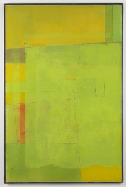 , 'Untitled (Aerial View, Green),' 2015, Derek Eller Gallery