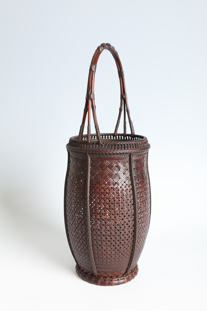 , 'Flower Basket with Natural Bamboo Handle (T-2293),' , Erik Thomsen