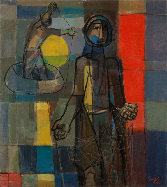 , 'Fisherman,' 1958, Meem Gallery