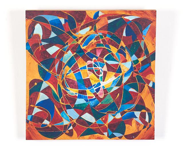 , 'Orange & Blue Rotation ,' 1990, H.ARTS COLLECTIVE