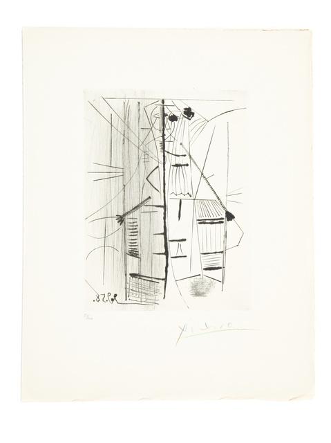 Pablo Picasso, 'Les Menines et la Vie (Bloch 857)', 1958, Print, Engraving with drypoint and roulette on Arches paper, Forum Auctions