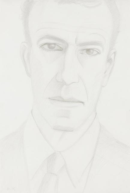 Alex Katz, 'Self Portrait', 1980, Hindman