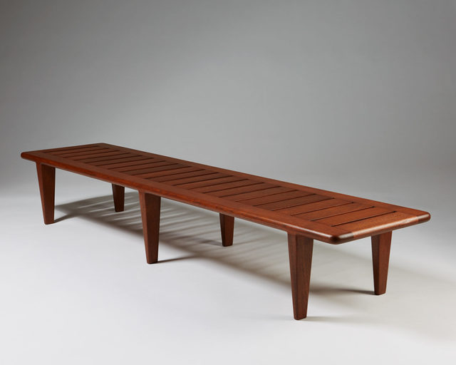 , 'Bench/coffee table model JH 574,' 1950-1959, Modernity