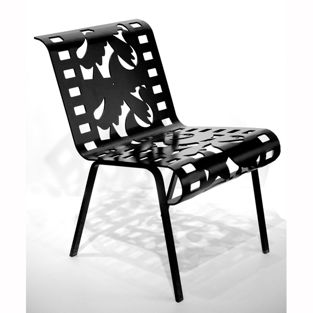 , '[ 18.2 ] Chairs from Cutting Room Floor Series (Black),' , ÆRENA Galleries and Gardens