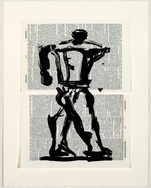 William Kentridge, 'Universal Archive (Ref. 23)', 2012, Barbara Edwards Contemporary
