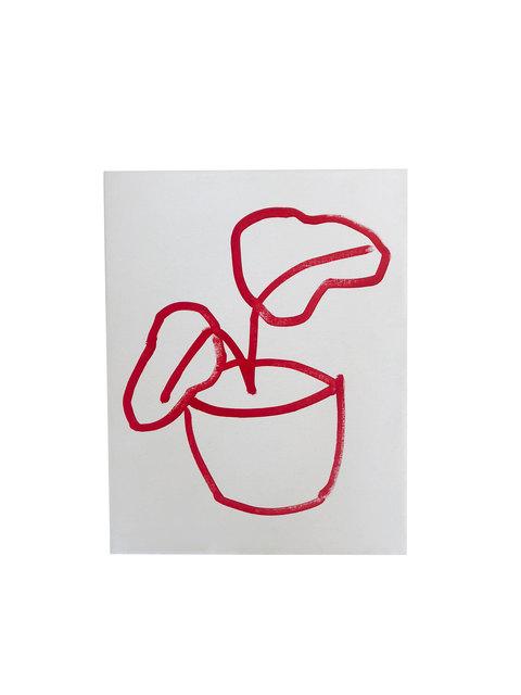 , 'Red,' 2019, D2 Art