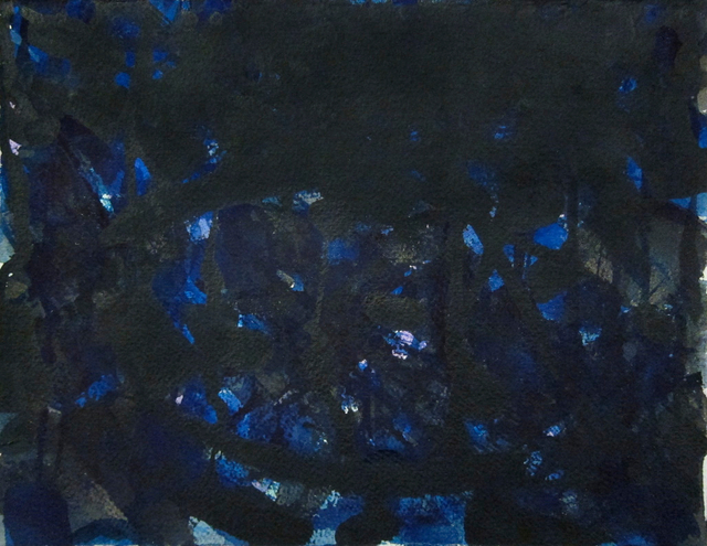 , 'Untitled (Blue and Black),' circa 1955, Hollis Taggart Galleries