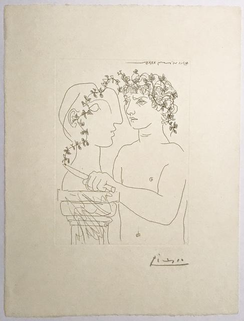 , 'Jeune Sculpteur finissant un Plâtre,' 1933, John Szoke